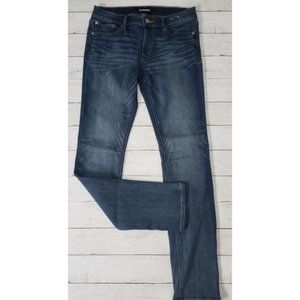 Express - Mid Rise Skinny Jeans 8 Long